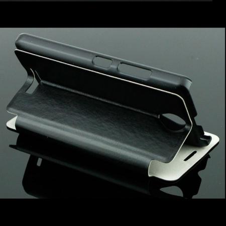 Husa Lenovo A1000 Boso din piele eco - negru3