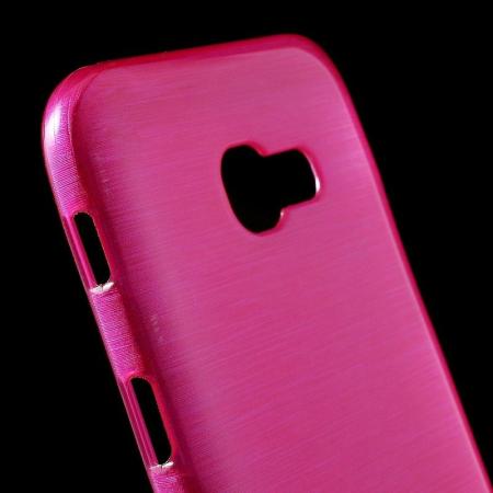 Husa Samsung Galaxy A5 2017 (A520F) Brushed Inner TPU - roz1