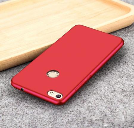 Husa Color Soft Cover Huawei P9 Lite Mini (2017) - rosu1
