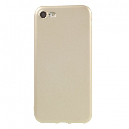 Husa Iphone 7 Color Soft TPU Cover - gold0