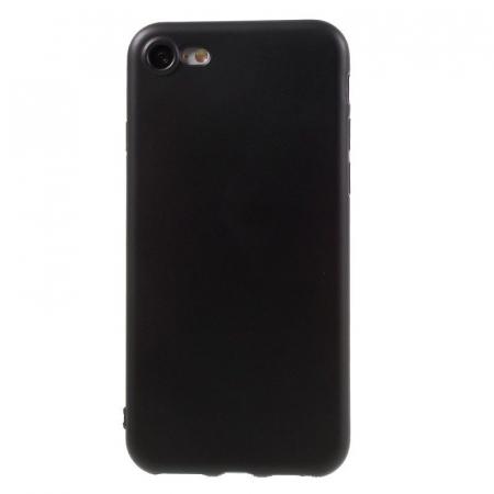 Husa iPhone 7 / iPhone8  Matte Soft TPU - negru0