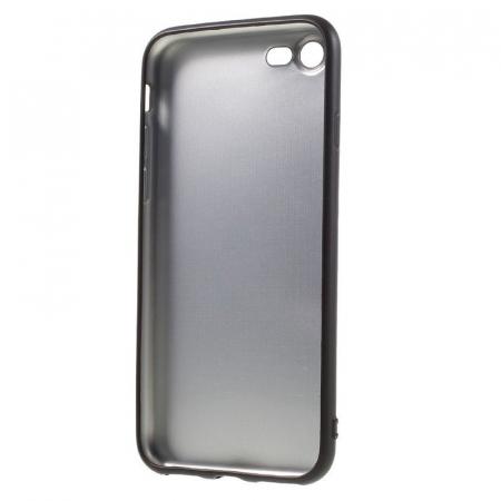Husa iPhone 7 / iPhone8  Matte Soft TPU - negru2