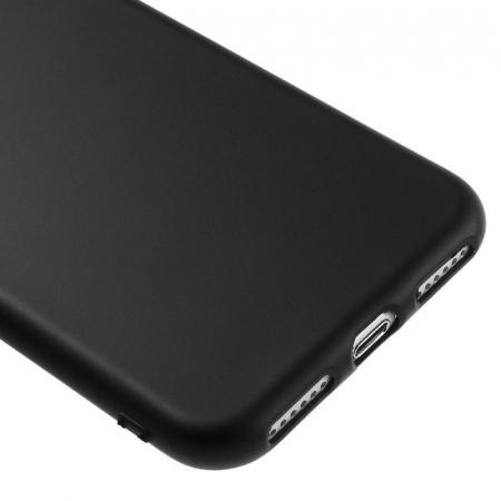 Husa iPhone 7 / iPhone8  Matte Soft TPU - negru4