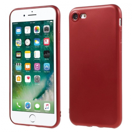 Husa Iphone 7 Color Soft TPU Cover - rosu1