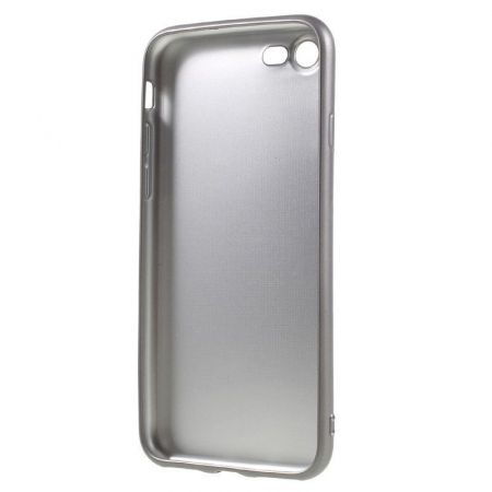 Husa Iphone 7 Color Soft TPU Cover - silver4
