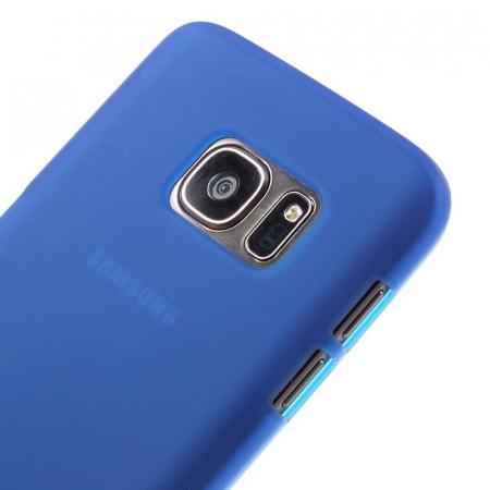Husa Color Soft TPU Cover Samsung Galaxy S7 - albastra [3]