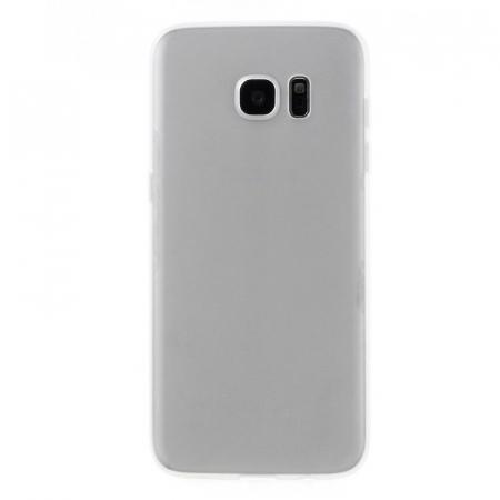 Husa Color Soft TPU Cover Samsung Galaxy S7 Edge - alb1
