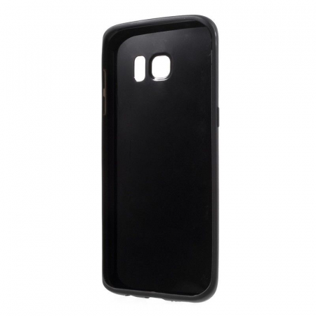 Husa Color Soft TPU Cover Samsung Galaxy S7 Edge - negru1