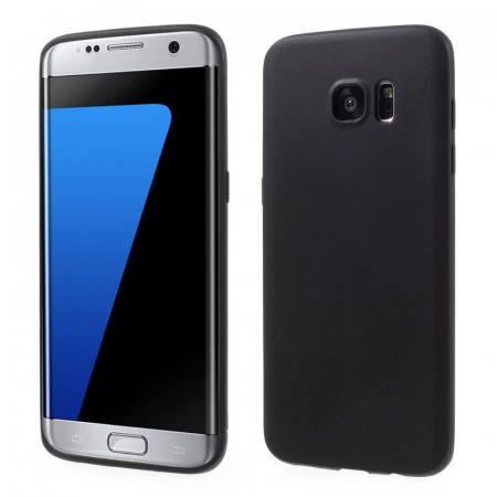 Husa Color Soft TPU Cover Samsung Galaxy S7 Edge - negru0