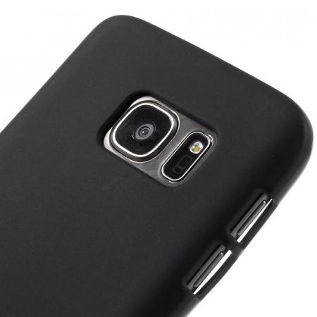 Husa Color Soft TPU Cover Samsung Galaxy S7 - negru3