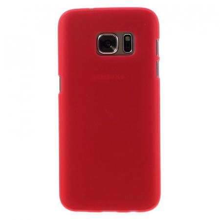 Husa Color Soft TPU Cover Samsung Galaxy S7 - rosu1