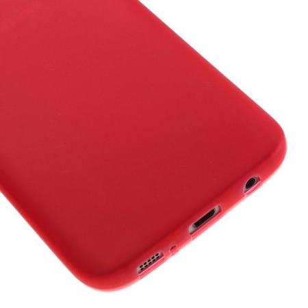 Husa Color Soft TPU Cover Samsung Galaxy S7 - rosu3