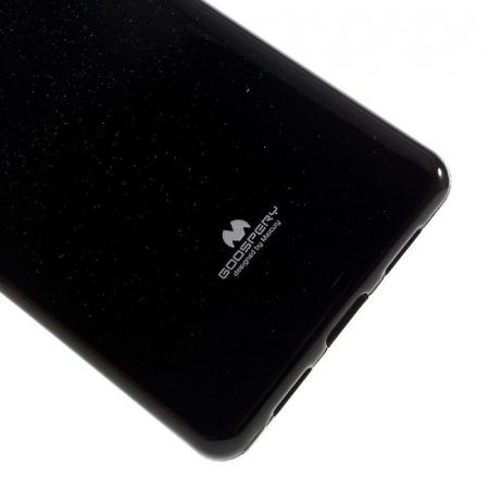 Husa Huawei P9 Lite Goospery Glitter Soft TPU - negru4