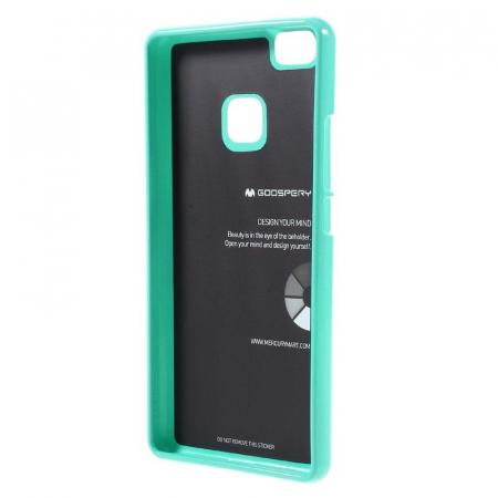 Husa Huawei P9 Lite Goospery Glitter Soft TPU - verde mint2