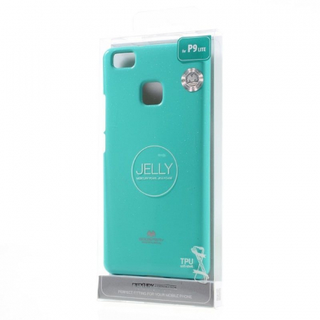 Husa Huawei P9 Lite Goospery Glitter Soft TPU - verde mint6