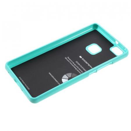 Husa Huawei P9 Lite Goospery Glitter Soft TPU - verde mint3