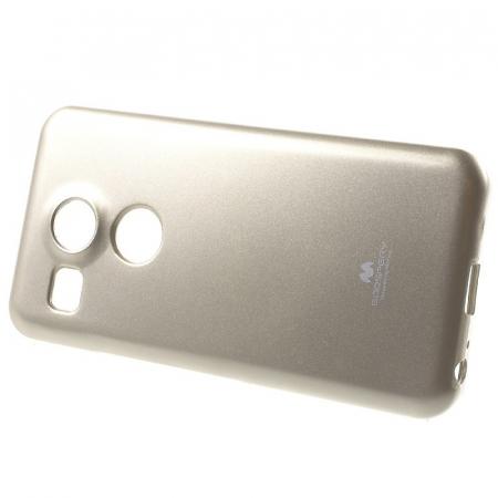 Husa Goospery Glitter Soft TPU LG Google Nexus 5X - gold1