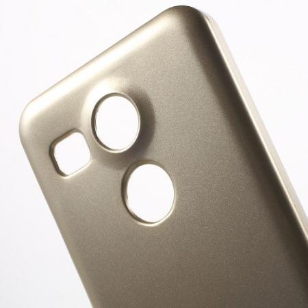 Husa Goospery Glitter Soft TPU LG Google Nexus 5X - gold3