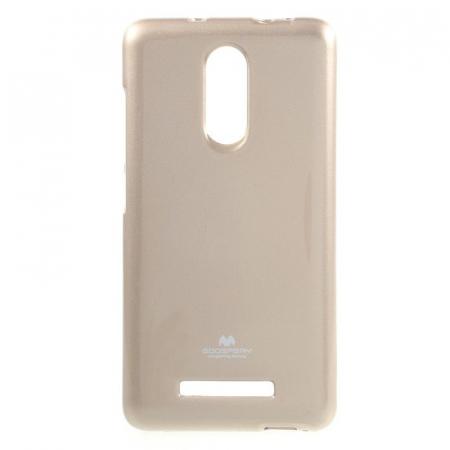 Husa Goospery Glittery TPU Xiaomi Redmi Note 3 - gold [0]