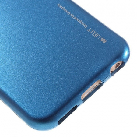 Husa iPhone 6 / iPhone 6S Goospery i JELLY - albastru3