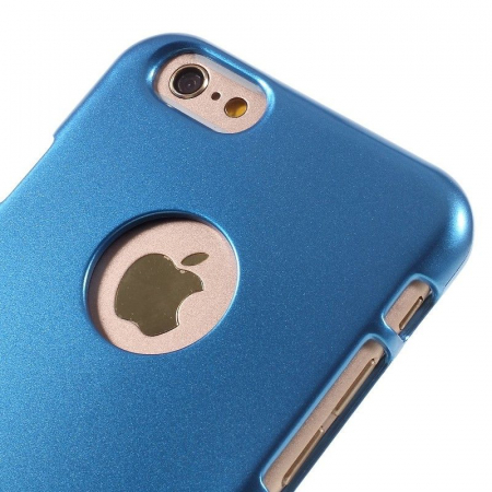 Husa iPhone 6 / iPhone 6S Goospery i JELLY - albastru5