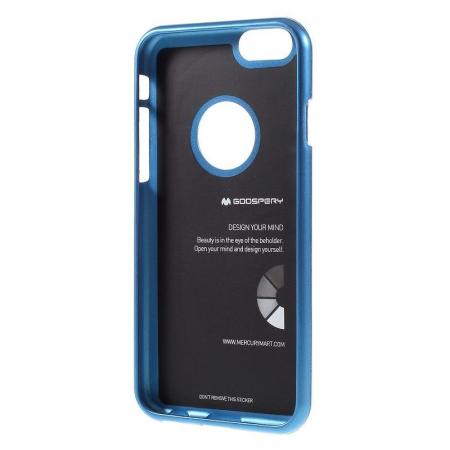 Husa iPhone 6 / iPhone 6S Goospery i JELLY - albastru2