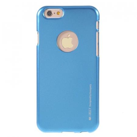 Husa iPhone 6 / iPhone 6S Goospery i JELLY - albastru0