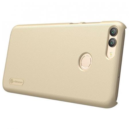 Husa  Huawei P Smart / Enjoy 7S Nillkin Frosted Shield - gold4