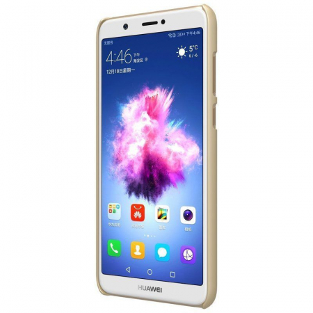 Husa  Huawei P Smart / Enjoy 7S Nillkin Frosted Shield - gold3