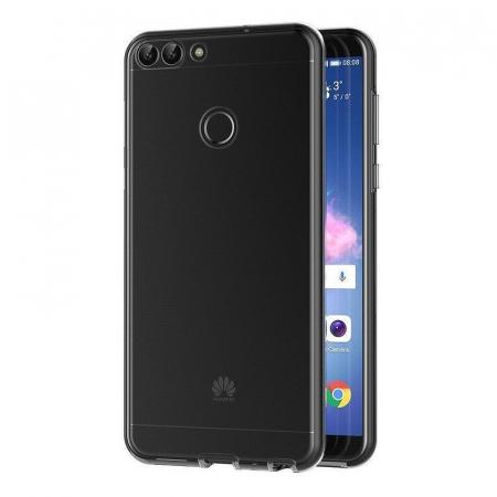Husa   Huawei   P Smart / Enjoy 7S  Silicon TPU 360 grade ( fata-spate ) - transparent4