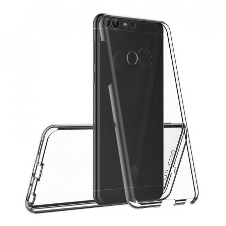 Husa   Huawei   P Smart / Enjoy 7S  Silicon TPU 360 grade ( fata-spate ) - transparent6