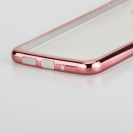 Husa  Huawei P10 Lite Plating  Silicon TPU Ultra Thin  - rose4