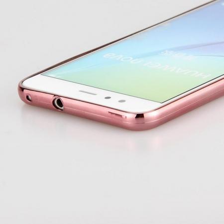 Husa  Huawei P10 Lite Plating  Silicon TPU Ultra Thin  - rose3
