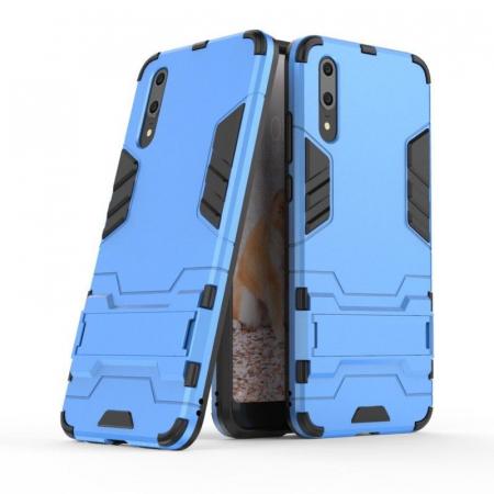 Husa   Huawei P20  Hybrid Stand - albastru1