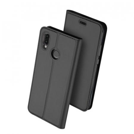 Husa  Huawei P20 lite Dux Ducis din piele eco - grey2