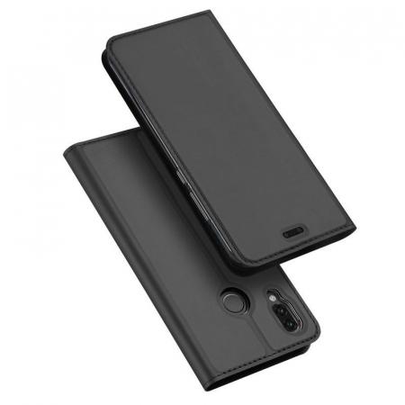 Husa  Huawei P20 lite Dux Ducis din piele eco - grey0