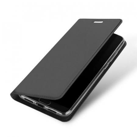 Husa  Huawei P20 Dux Ducis din piele eco - negru0