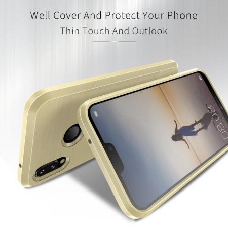 Husa Huawei   P20 lite Dux Ducis Mojo Case Silicon - gold2