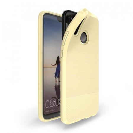 Husa Huawei   P20 lite Dux Ducis Mojo Case Silicon - gold0