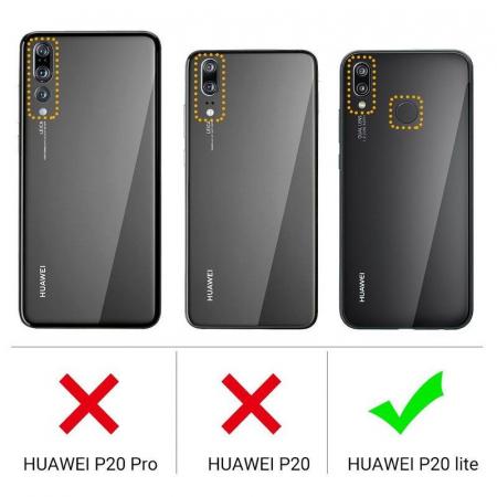 Husa Huawei P20 Lite Silicon Matte Ultra Thin - negru6