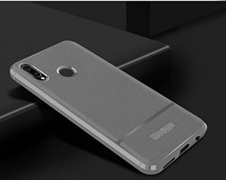 Husa Huawei P20 Lite Grain Silicon Tpu - gri1