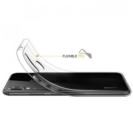 Husa Huawei P20 Lite Silicon TPU Ultra Thin 0.5 mm  - transparent2