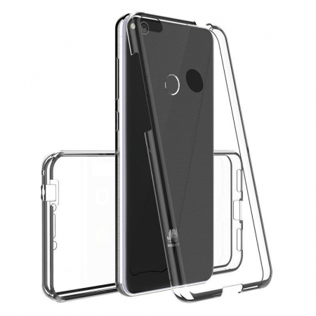 Husa   Huawei  P9 Lite 2017 / P8 Lite 2017 Silicon TPU 360 grade - transparent4