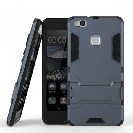 Husa Huawei P9 Lite Hybrid Stand - grey1