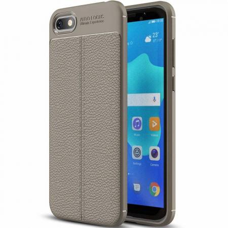 Husa Huawei Y5 ( 2018 ) Grain Silicon Tpu - gri0