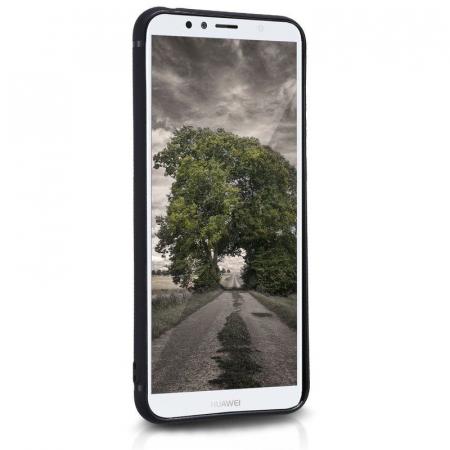 Husa Huawei Y6 2018 Silicon Matte Ultra Thin - negru4