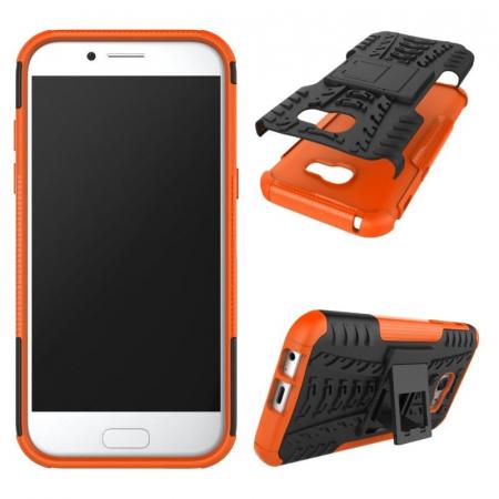 Husa  Samsung Galaxy A5 2017 (520F) Hybrid Stand - orange3