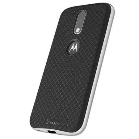 Husa Motorola Moto G4 Ipaky - argintiu [1]
