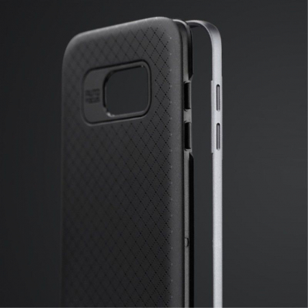 Husa Ipaky Samsung Galaxy S7 Edge - argintiu2