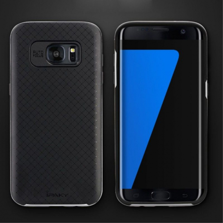 Husa Ipaky Samsung Galaxy S7 Edge - gray3
